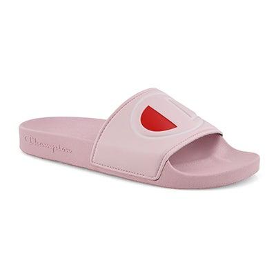 Lds Ipo pink sport slide sandal