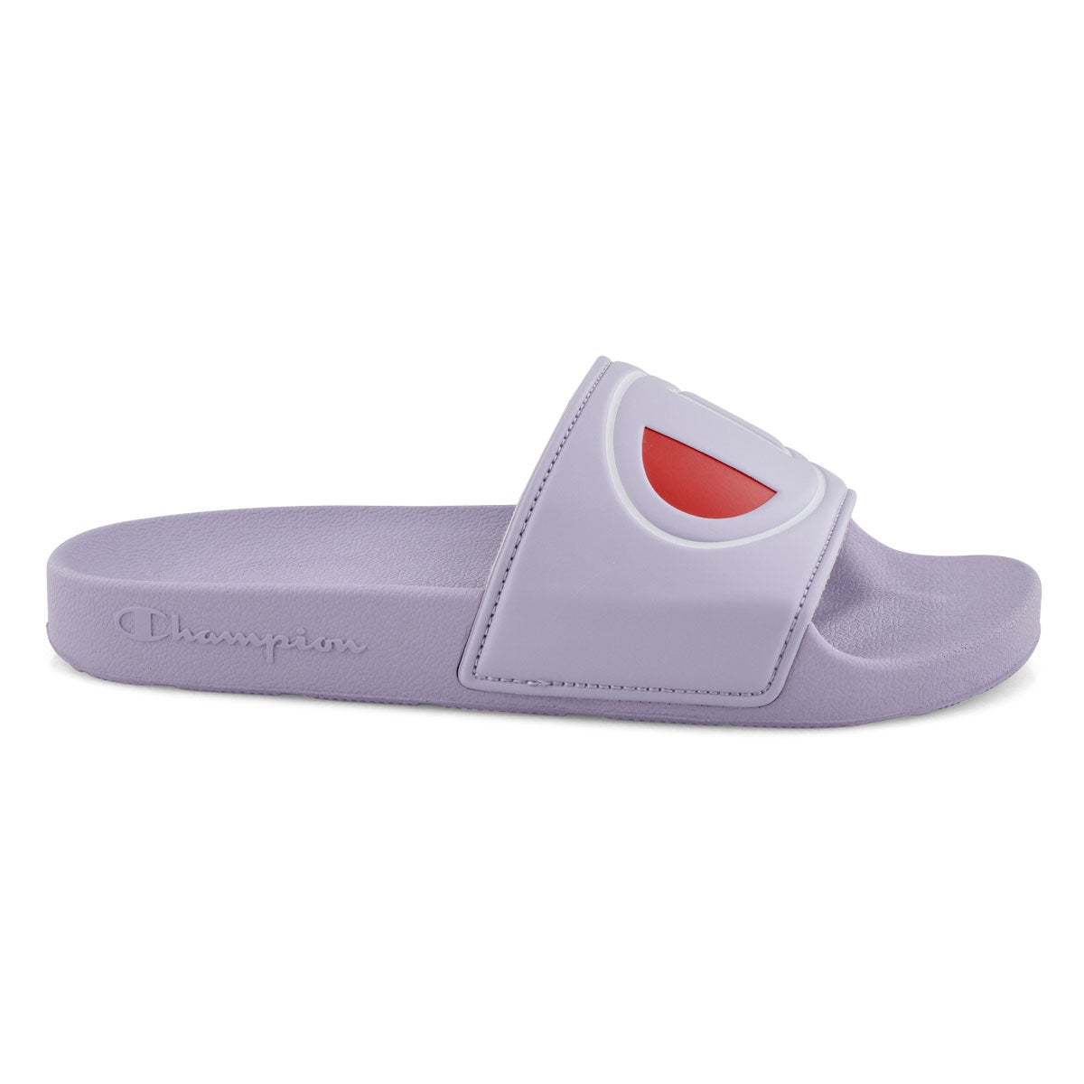 Lds Ipo violet sport slide sandal