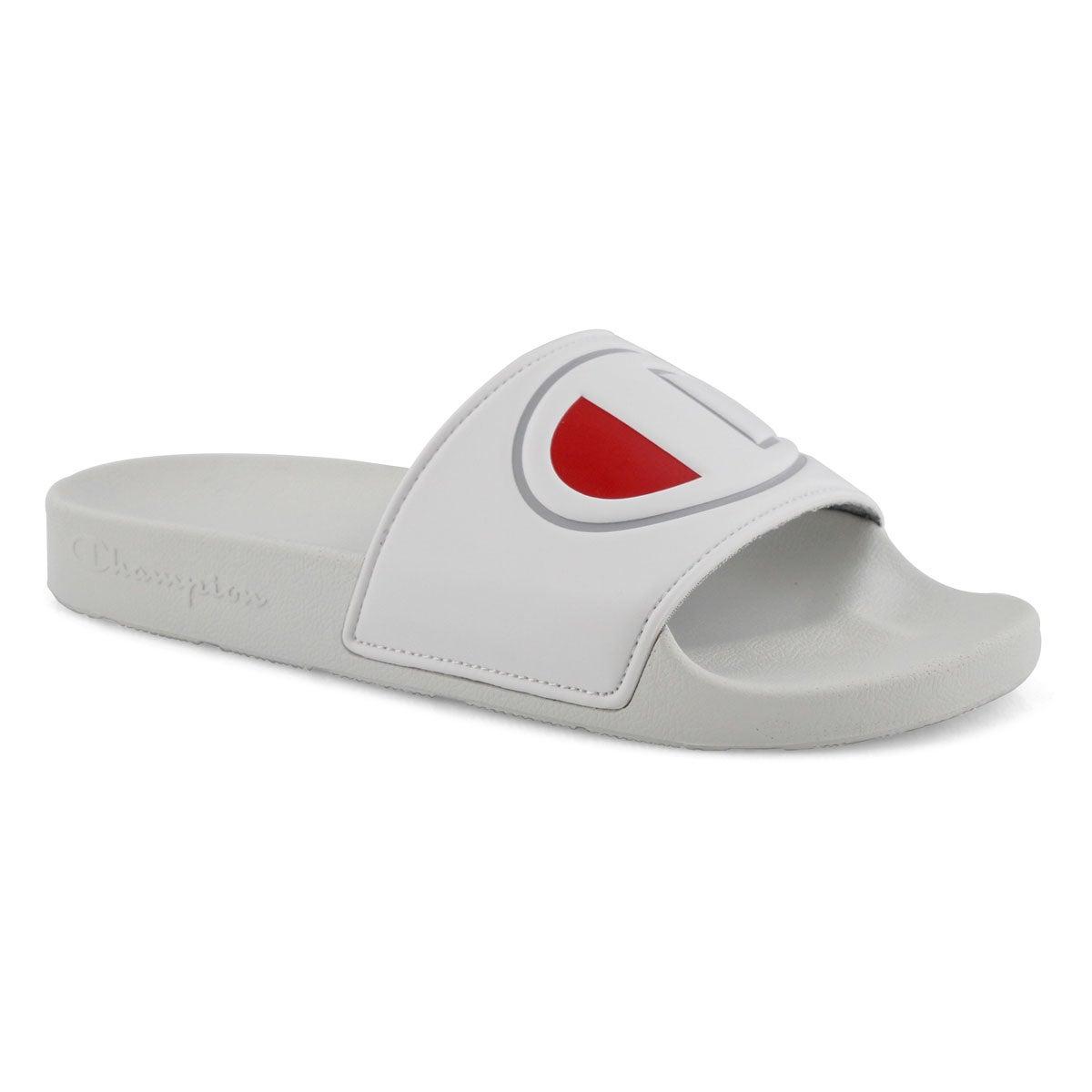 Lds Ipo white sport slide sandal