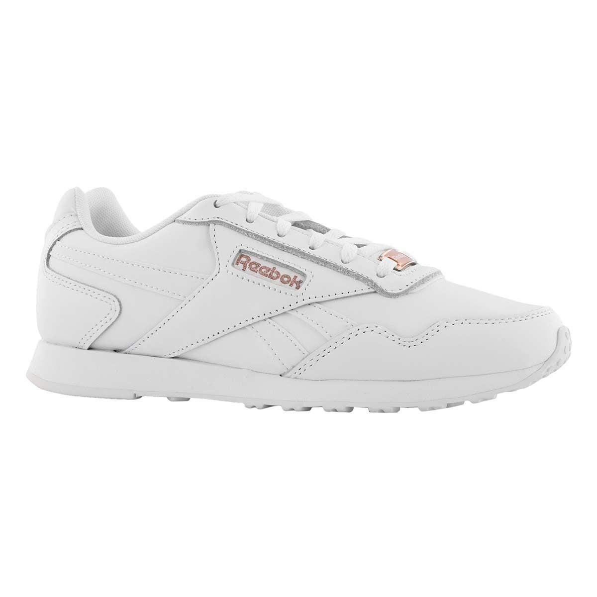 Lds Glide LX wht/rse gld fashion sneaker