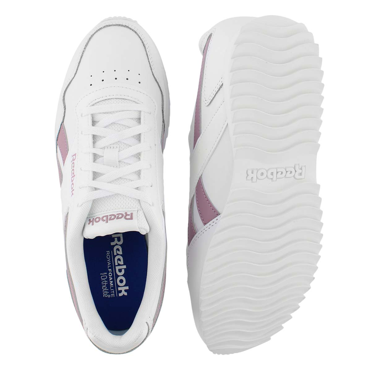 Lds Glide Ripple wht/llc fashion sneaker