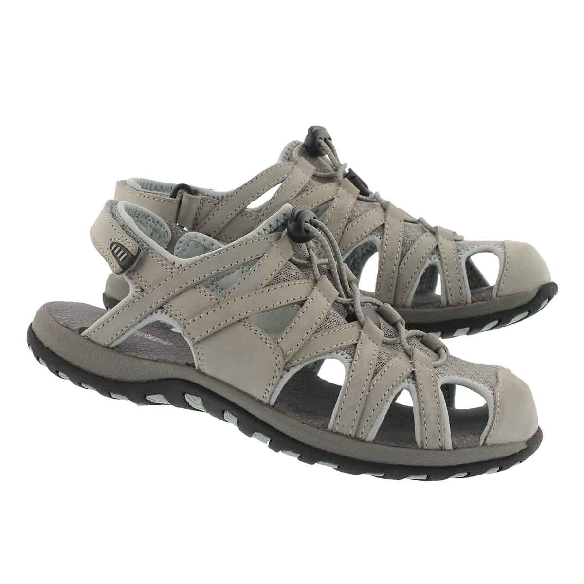 Lds Colette grey fisherman sport sandal