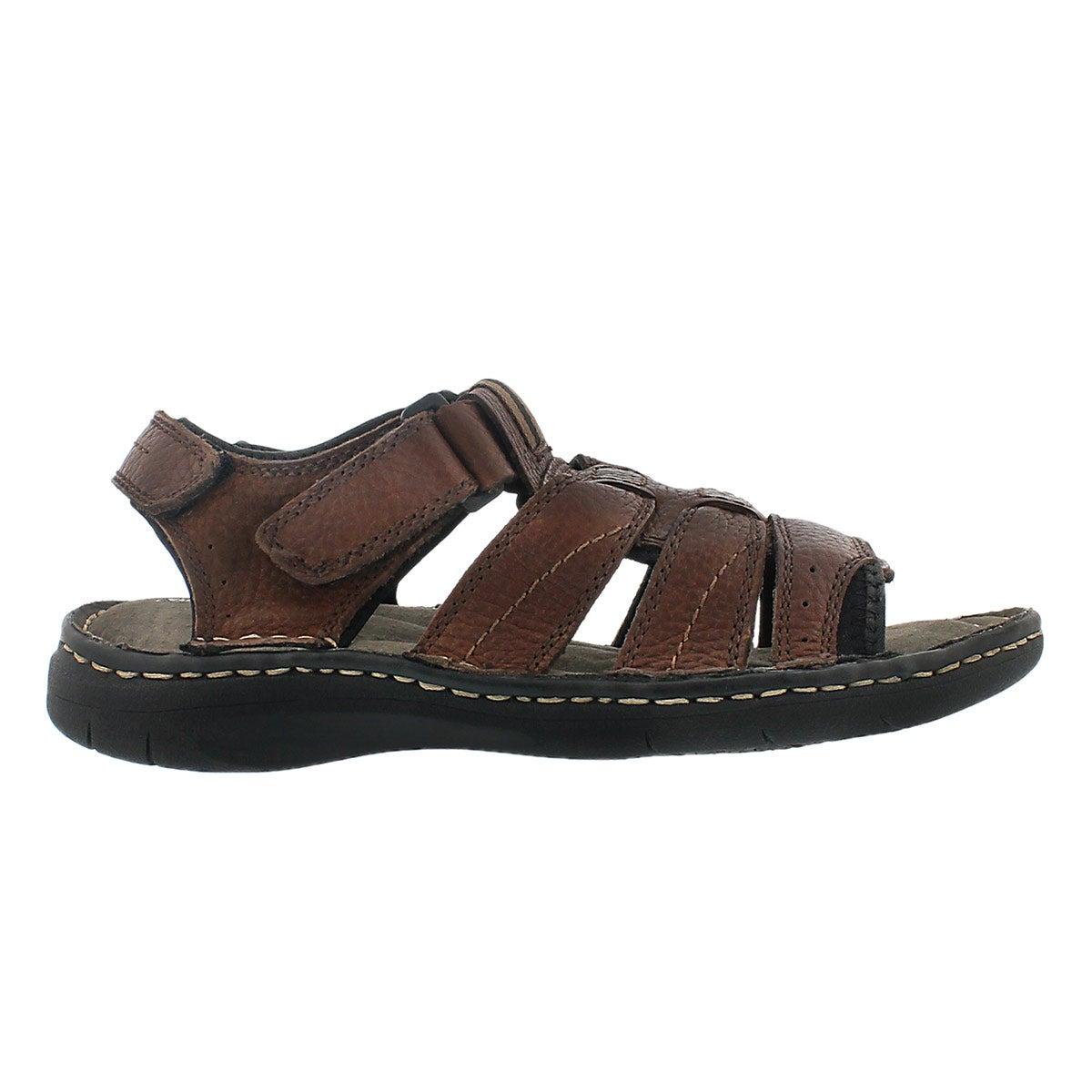 Mns Colin 3 brn opentoe fishermn sandal
