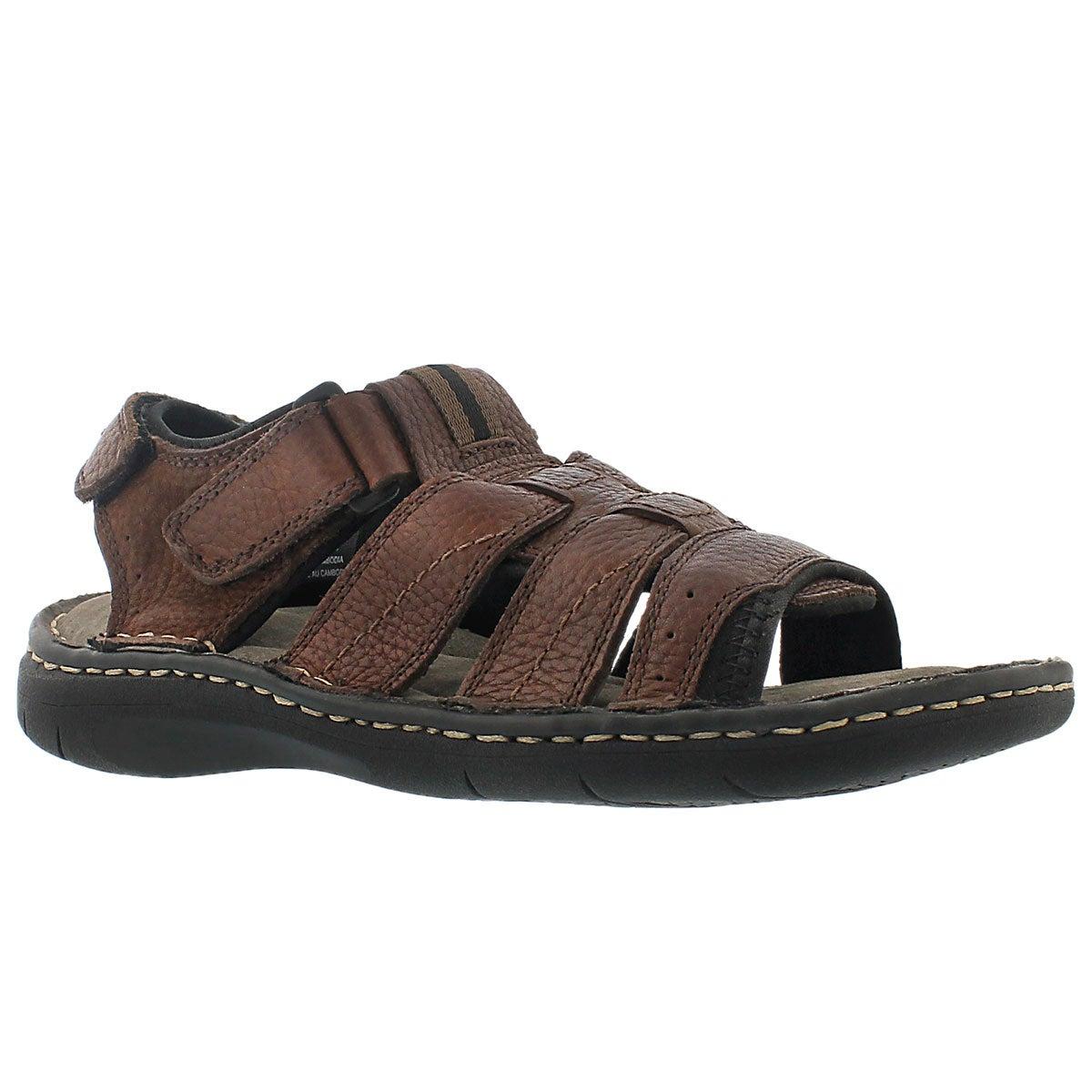 Men's COLIN 3 brown open toe fishermn sandals