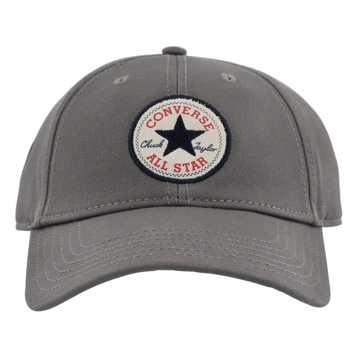 Men's CORE charcoal adjustable precurve caps