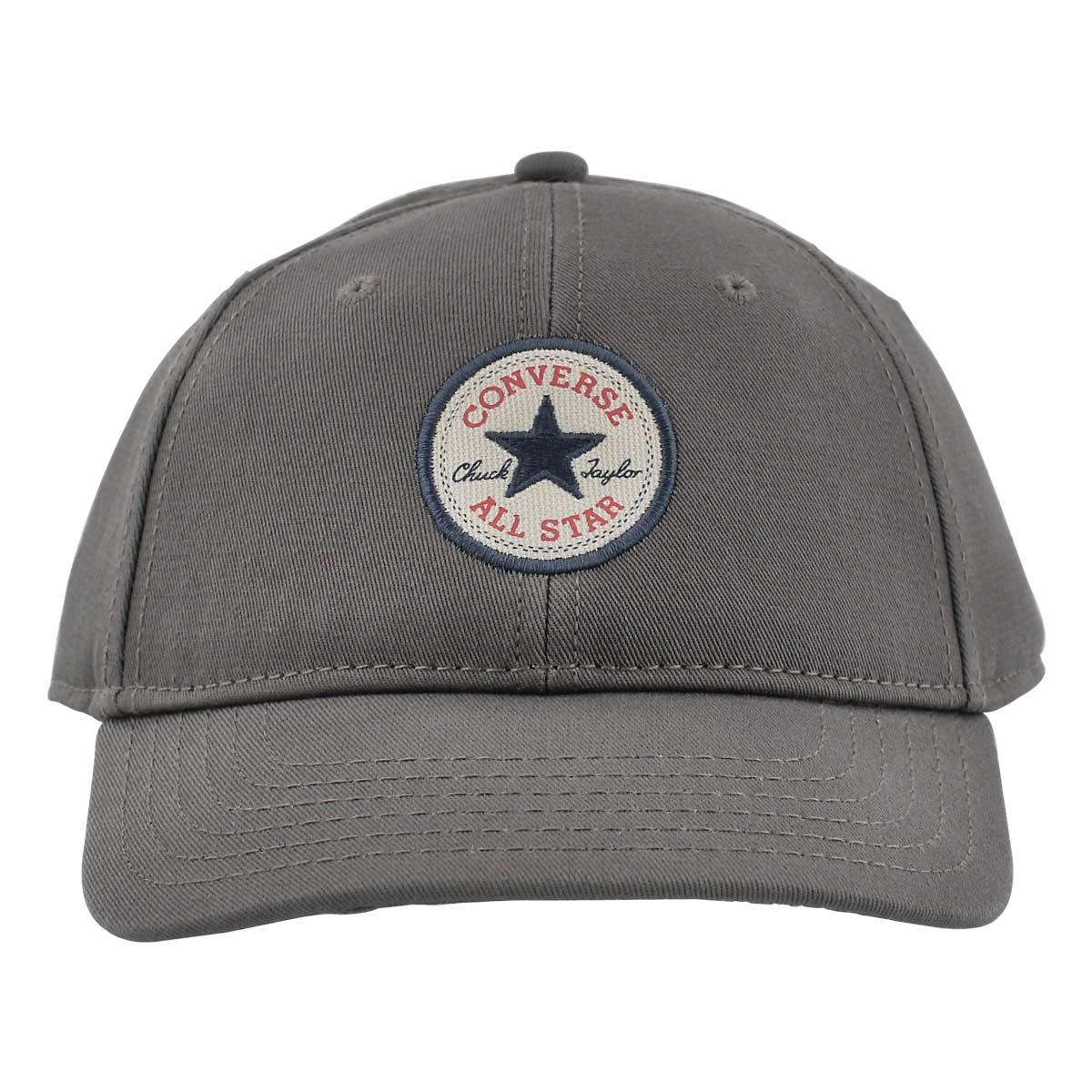 69c38dd3e972 Converse Women s CORE charcoal adjustable precurve cap Women s Accessories  Grey. Lds Core char adjustable precurve cap