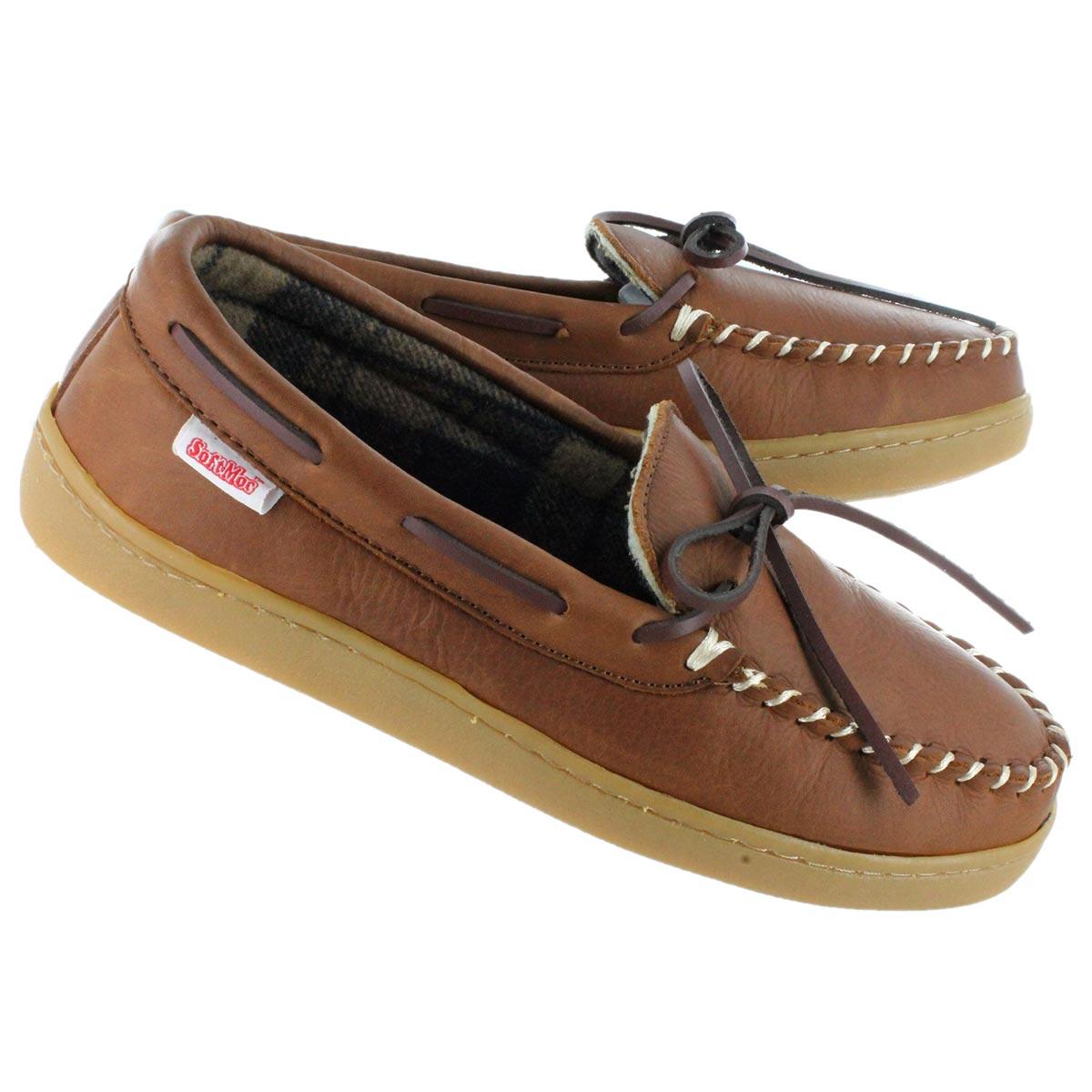 Mns Conrad 2 brn leather moccasin