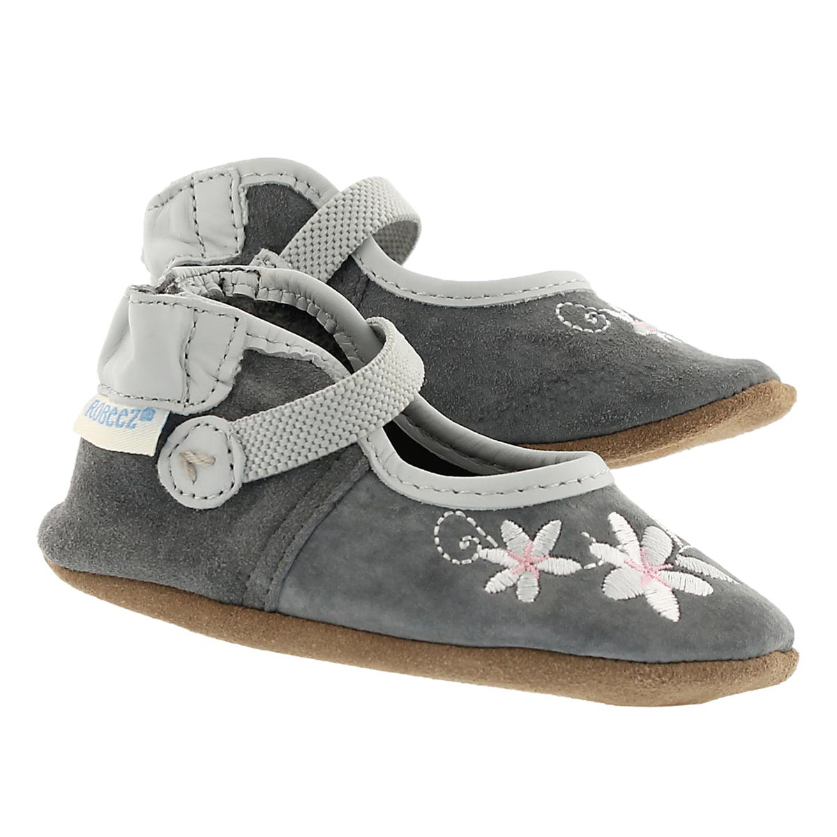 Inf Cool Water Mary grey slipper