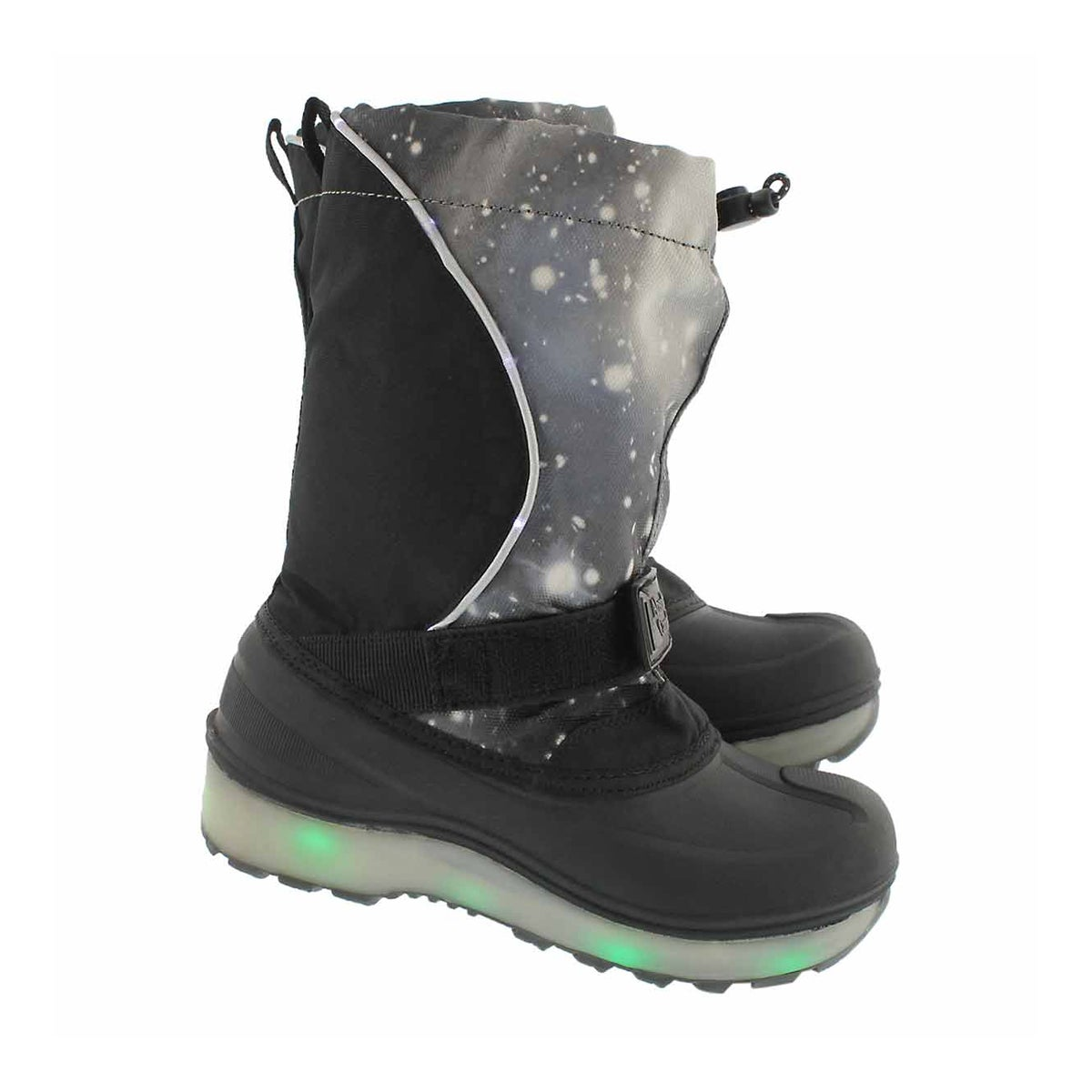 Bys Cosmos gry wp light up winter boot