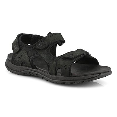 Lds Courtney 3 black sport sandal