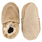 Inf Cozy Moccasin camel softsole slipper