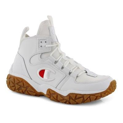 Mns Tank Grid white lace-up sneaker