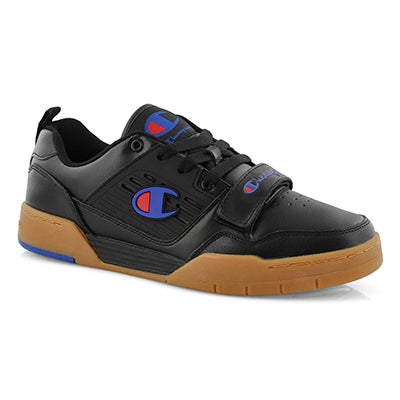 Mns 3 On 3 Low black lace-up sneaker