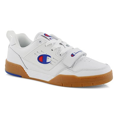 Mns 3 On 3 Low white lace-up sneaker