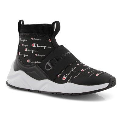 Lds Rally Script black sneaker