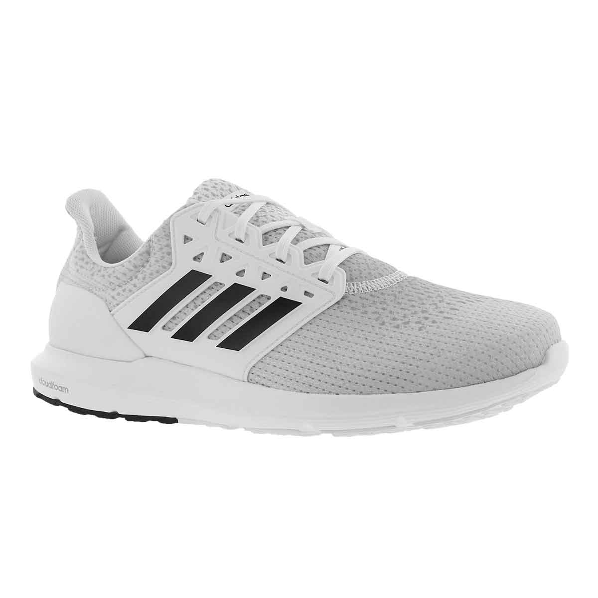 Men's SOLYX white/black/grey running shoe