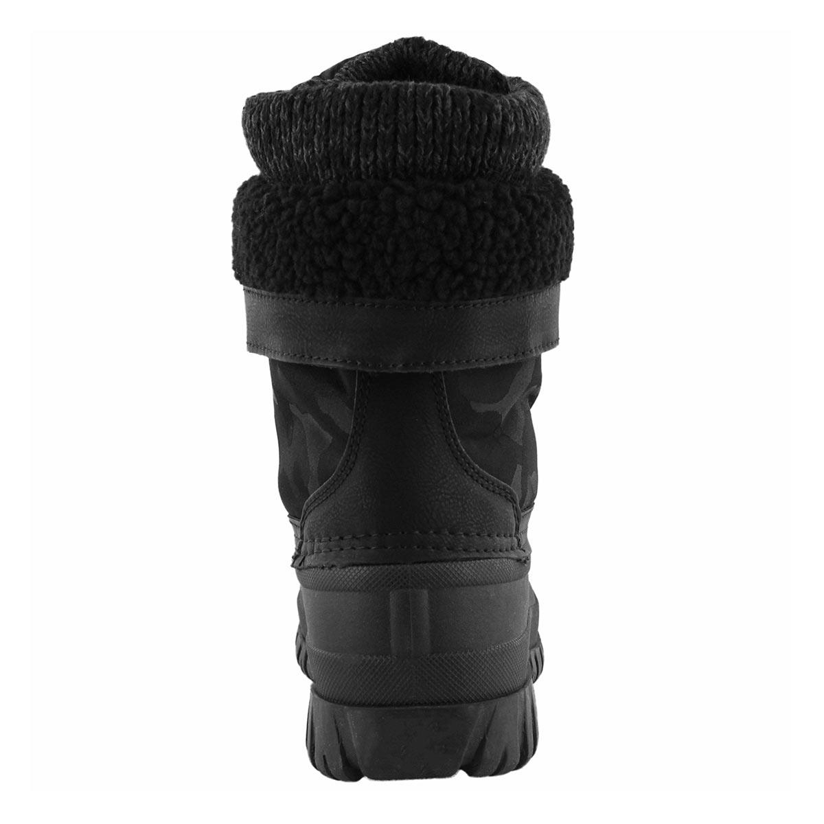 Lds Creek black camo wtpf winter boot