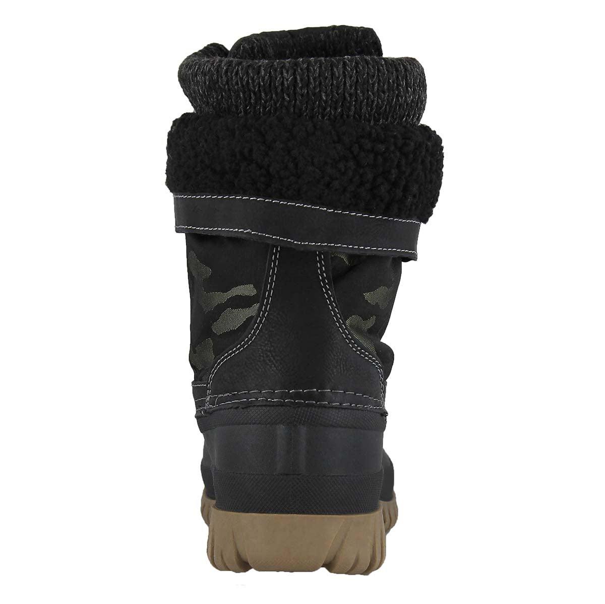 Lds Creek green camo wtpf winter boot