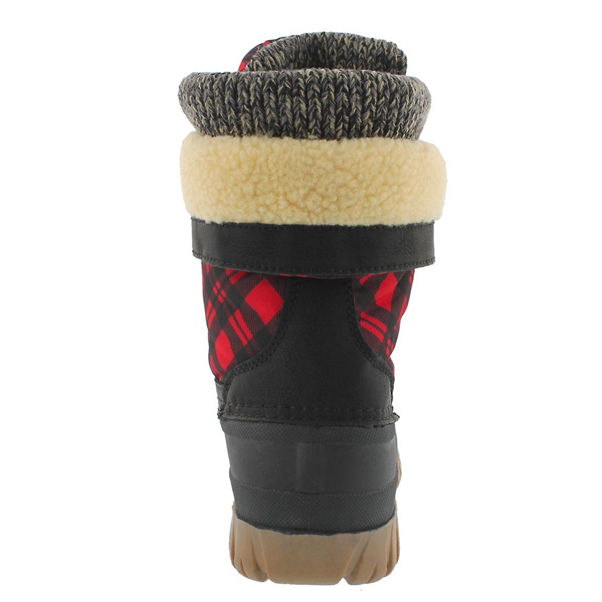 Lds Creek lace up red pld wp winter boot