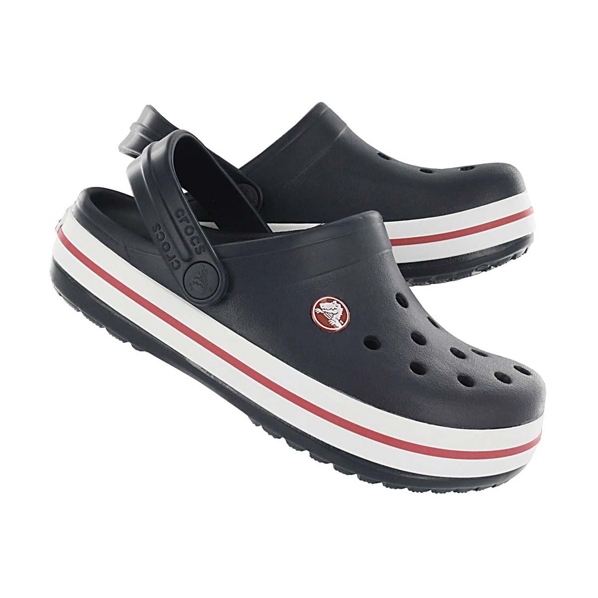 Kds Crocband navy EVA comfort clog
