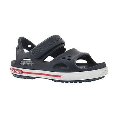 Kds Crocband II navy sport sandal