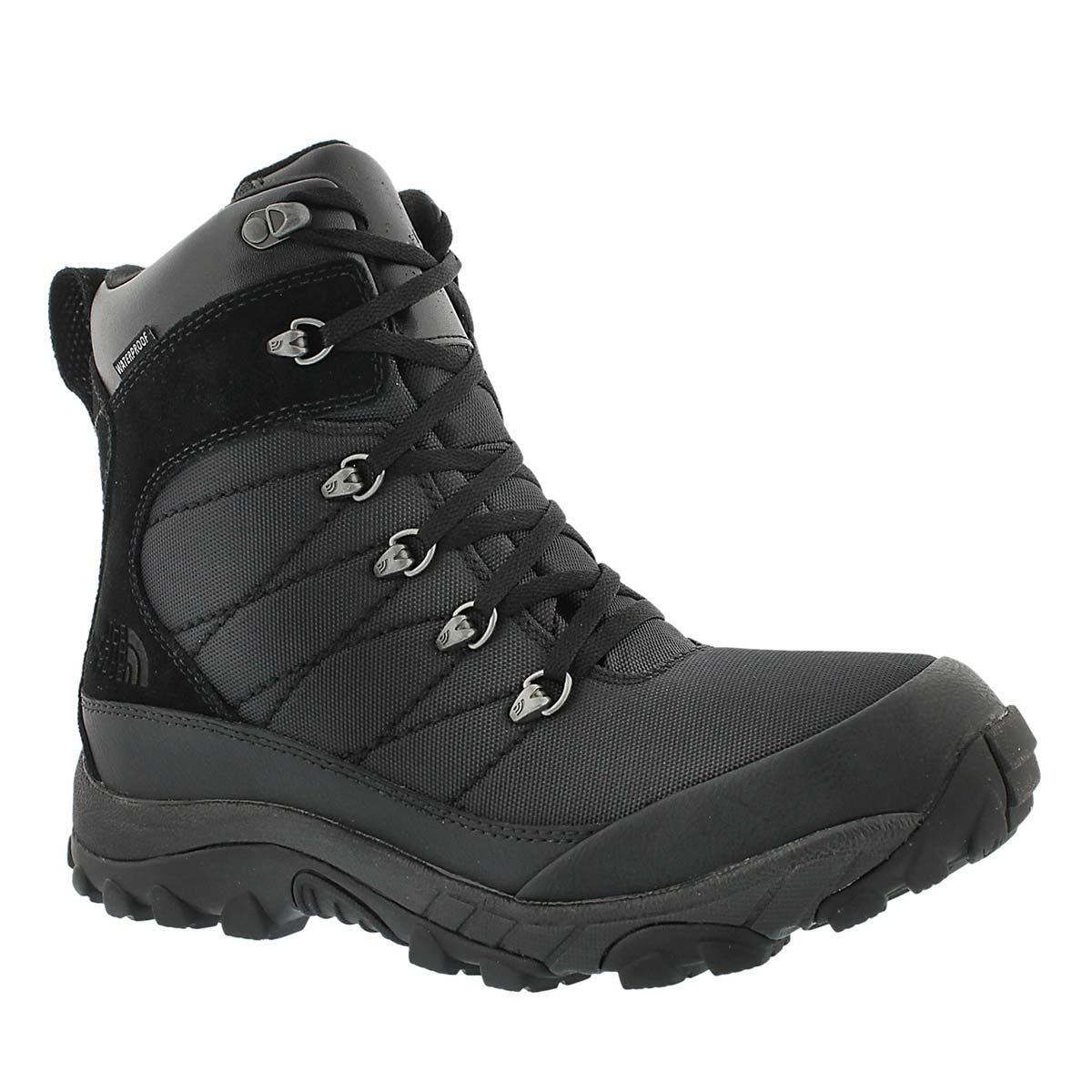 Mns Chilkat Nylon wtpf blk winter boot