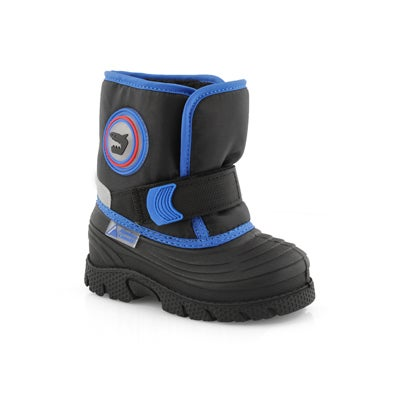 Inf-b Cub blue pull on winter boot