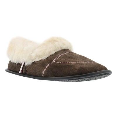SoftMoc Women's CUFF washable sheepskin & suede slippers