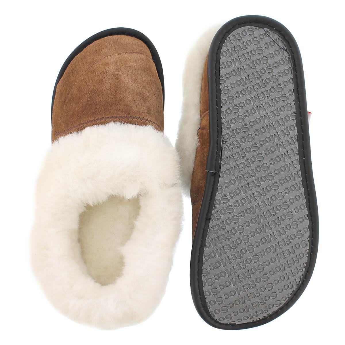 Pantoufle peau mouton épice CUFF, fem