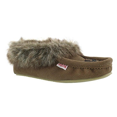 SoftMoc Women's CUTE FAUX ME brich crepe sole moccasins