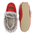 Lds Cute faux me red crepe sole faux