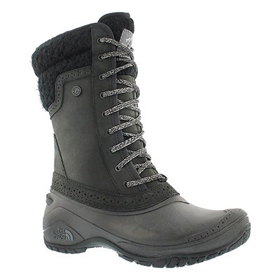 The North Face Women's SHELLISTA II MID blk/gry winter boots