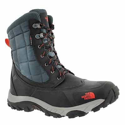 Mns ThermoBall Utility gry/org wntr boot