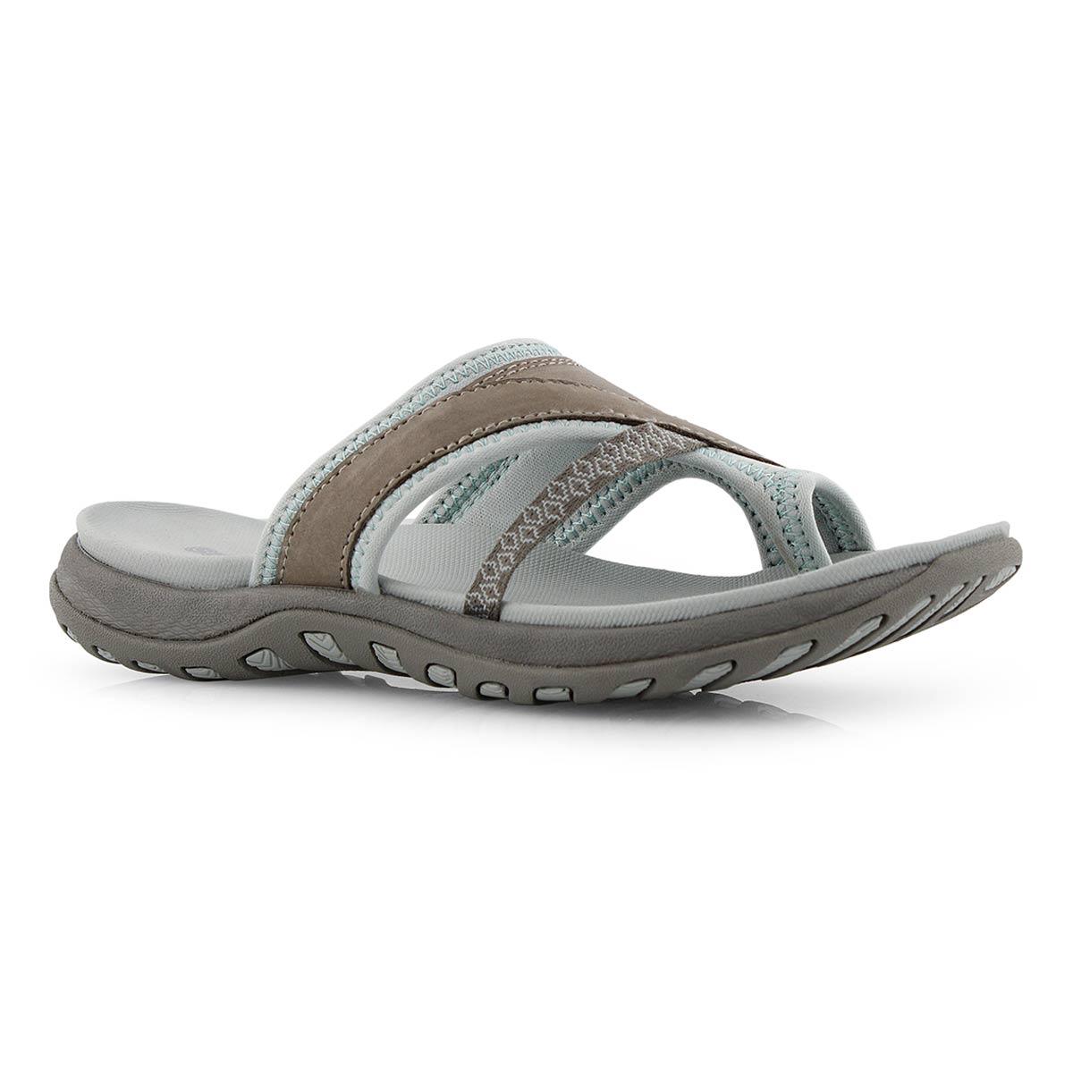 Lds Cynthia grey toe wrap sport sandal