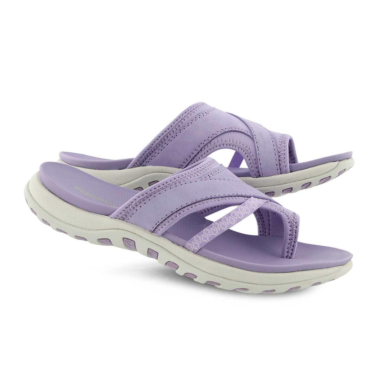 Women's CYNTHIA  lavender toe wrap sport sandals