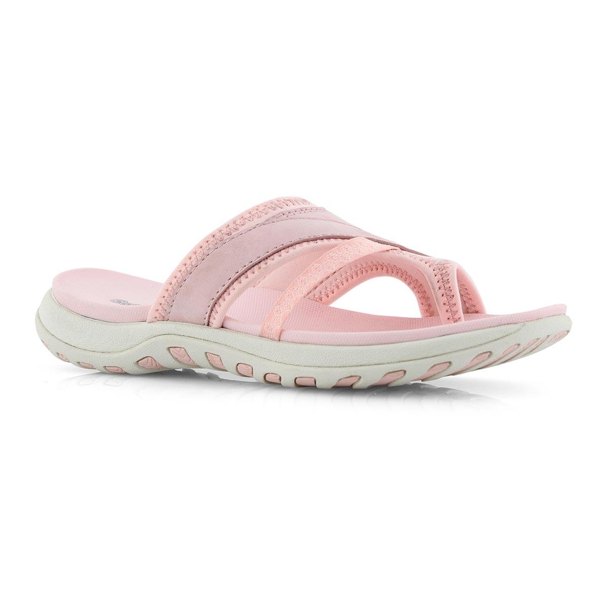 Lds Cynthia pink toe wrap sport sandal
