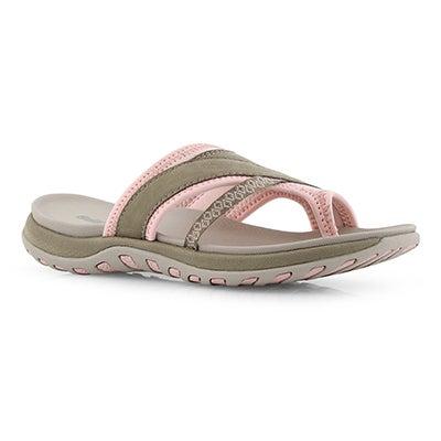 Lds Cynthia stone toe wrap sport sandal