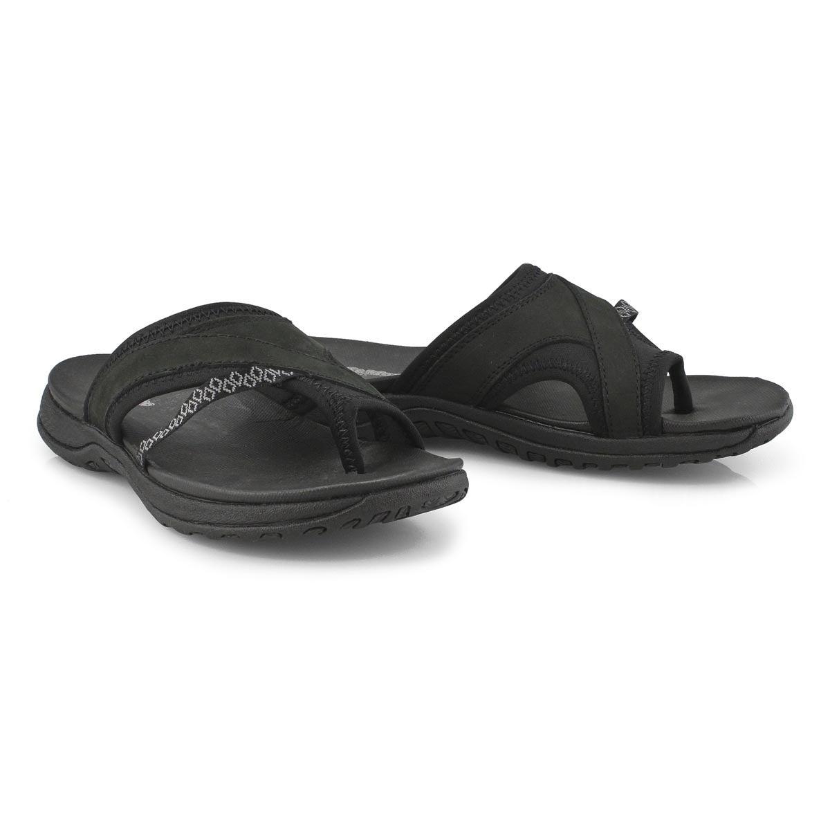 Lds Cynthia 2 black wrap sport sandal