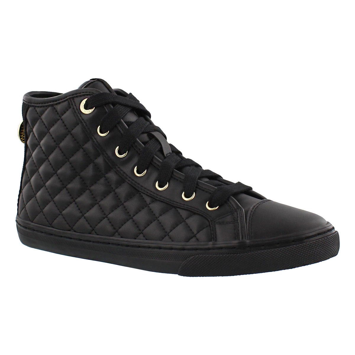 Women's NEW CLUB black lace up sneakers