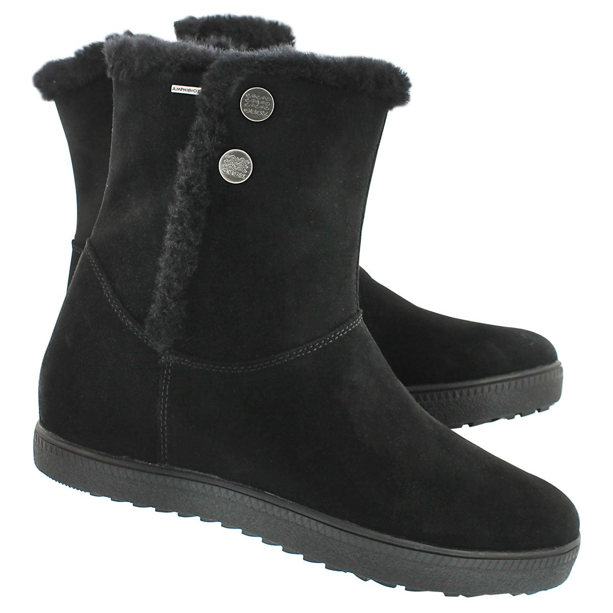 Lds Amarantha High black lined boot
