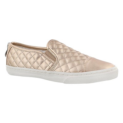 Geox Women's NEW CLUB skin slip on sneakers