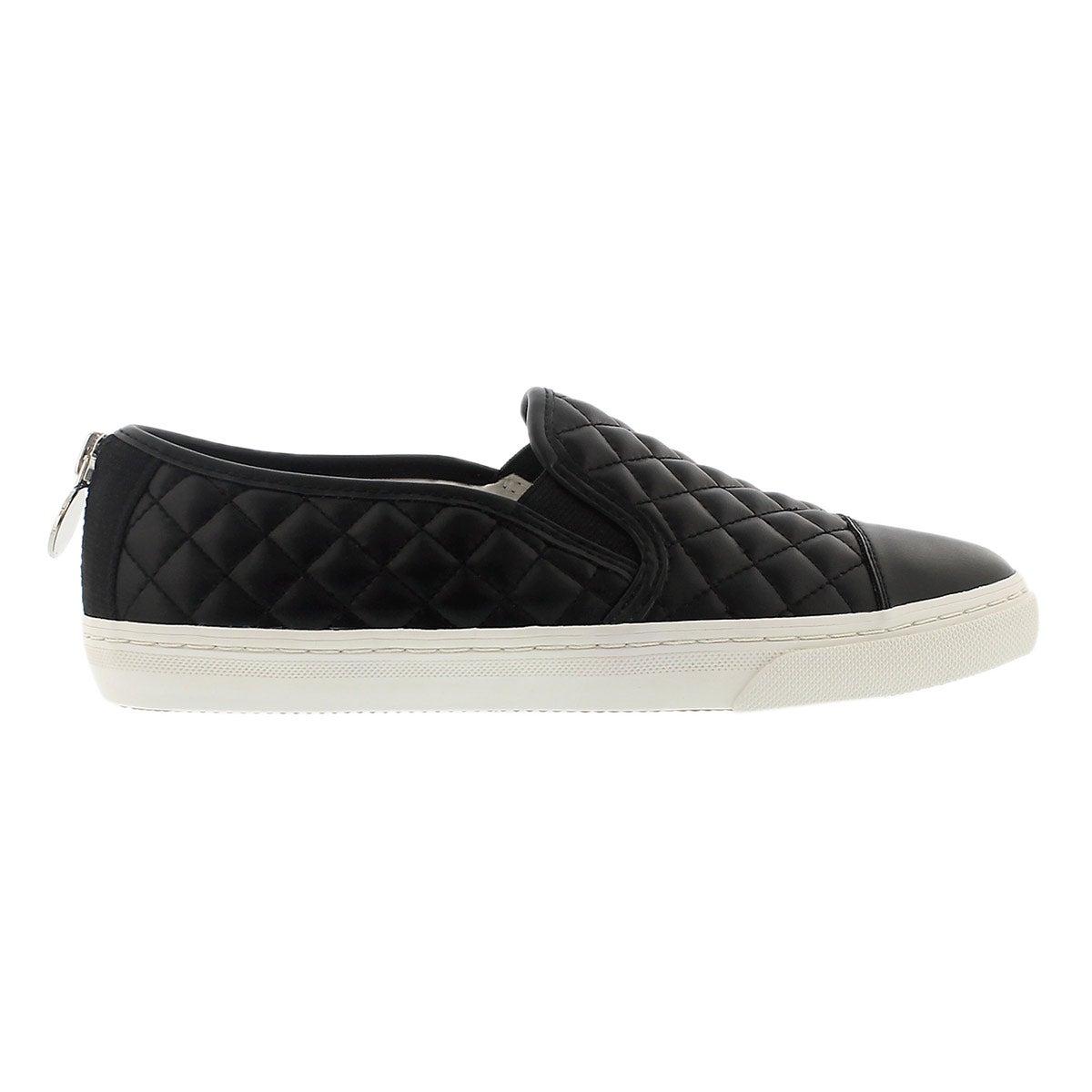 Lds New Club black slip on sneaker