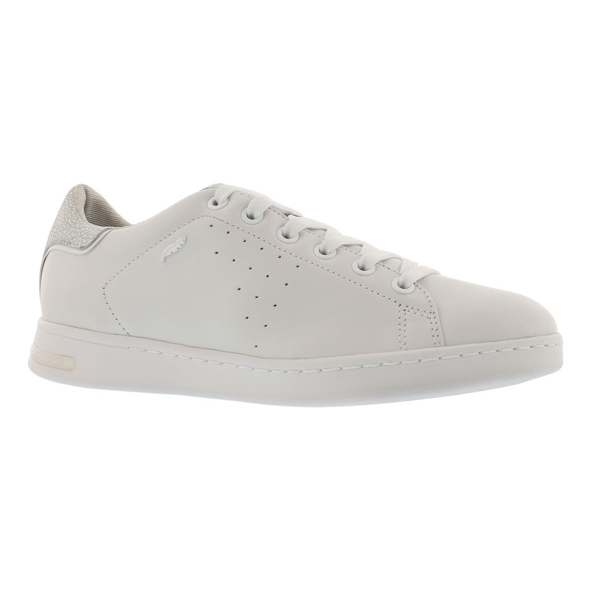 Women's JAYSEN white lace up sneakers