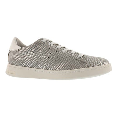 Lds Jaysen silver lace up sneaker