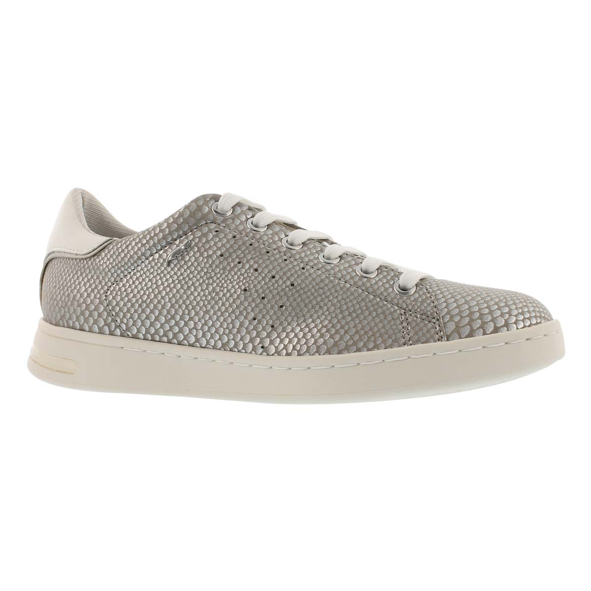 Women's JAYSEN silver lace up sneakers
