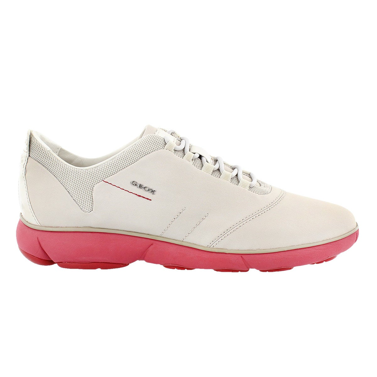 Lds Nebula off white/coral running shoe