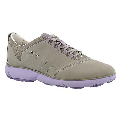 Geox Women's NEBULA light grey/lilac running shoes