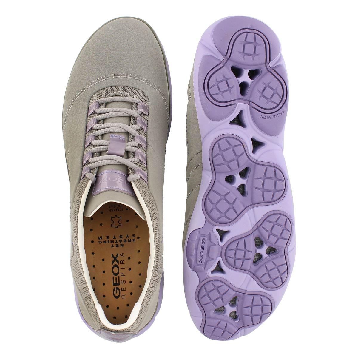 Lds Nebula lt gry/lilac running shoe