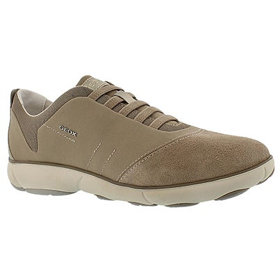 Geox Women's NEBULA lightt taupe running shoes