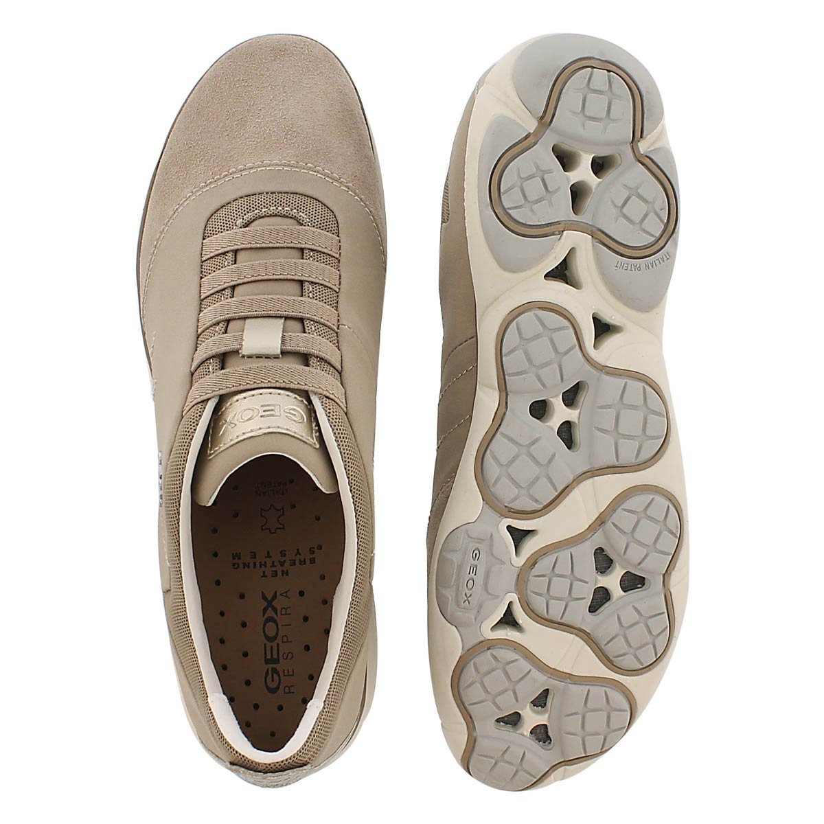 Chaussure de course Nebula, taupe, femme